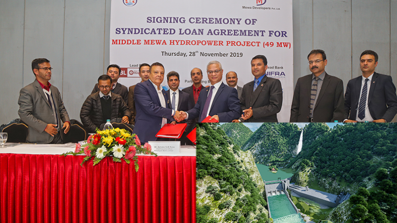 Financial Closure of Middle Mewa Hydropower Project