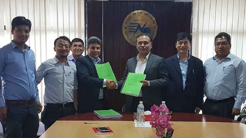 Power Purchase Agreement of Middle Mewa Hydropower Project